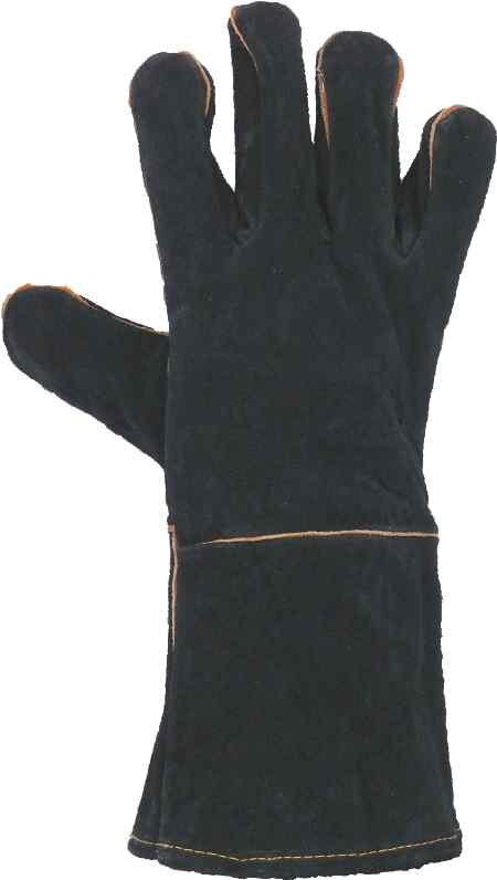 cf7e0ff3b04 SAM (EQ. k SANDPIPER) rukavice svářecí ČERNÉ